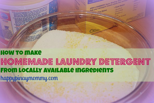 how to make natural baby detergent